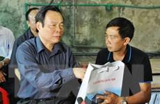 Phó Chủ tịch Quốc hội thăm hỏi nhân dân vùng lũ Mù Cang Chải