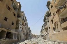 Syria tố cáo lính Mỹ dùng phốtpho trắng tấn công thường dân ở Raqqa