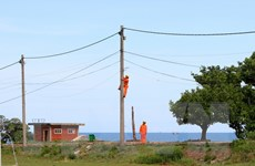 Quảng Trị tiếp nhận hệ thống điện trên đảo Cồn Cỏ