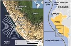 Động đất mạnh 6,1 độ Richter rung chuyển nhiều khu vực tại Peru