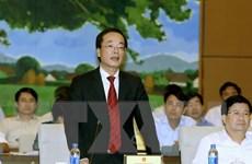 Ủy ban thường vụ Quốc hội chất vấn Bộ trưởng Xây dựng Phạm Hồng Hà