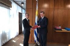 Quan hệ hợp tác Việt Nam-Uruguay tiếp tục phát triển tích cực