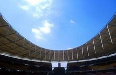 Mưa lớn đe dọa lễ khai mạc SEA Games 29 trên sân Bukit Jalil
