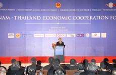 Thủ tướng dự Diễn đàn hợp tác kinh tế Việt Nam-Thái Lan