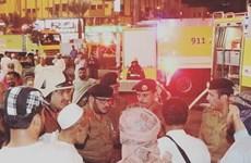 Sơ tán hàng trăm người do hỏa hoạn tại một khách sạn lớn ở Mecca