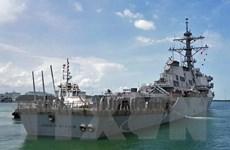 Xác định vị trí thi thể 10 thủy thủ mất tích của tàu khu trục Mỹ