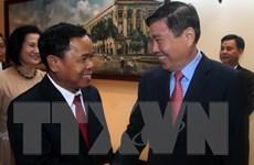 Tăng cường hợp tác giữa Thành phố Hồ Chí Minh và Lào