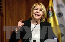 Venezuela đề nghị Interpol truy nã đỏ cựu Tổng Chưởng lý Luisa Ortega