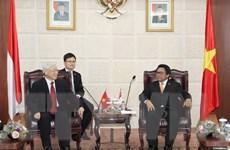Quan hệ chiến lược Việt Nam-Indonesia ngày càng phát triển