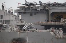 Malaysia thành lập nhóm điều tra đặc biệt về vụ va chạm của tàu Mỹ
