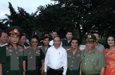 Thủ tướng thăm Xí nghiệp Thương binh Quang Minh tại Hải Phòng