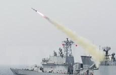 Hải quân Hàn Quốc tập trận bắn đạn thật quy mô lớn ở Biển Nhật Bản