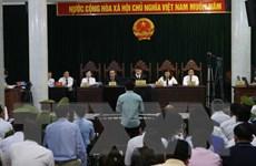 Phiên xét xử Hà Văn Thắm: Hai trong số sáu người liên quan đã có mặt