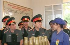 Bộ trưởng Bộ Quốc phòng thăm các đơn vị thuộc Cục Quân khí
