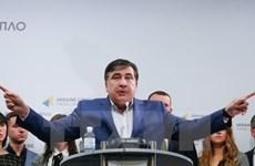 Cựu Tổng thống Gruzia xâm nhập vào Ukraine để đòi quốc tịch