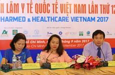 600 gian hàng tham dự Triển lãm Y tế Quốc tế Việt Nam 2017