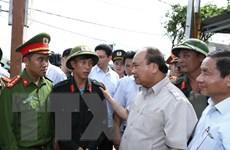 Thủ tướng thị sát, chỉ đạo khắc phục hậu quả bão số 10 tại Hà Tĩnh