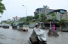 Cả ba miền đều có mưa rất to, lũ tại miền Trung đang lên nhanh