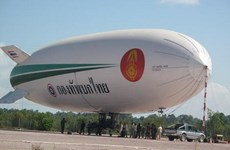 Thái Lan chi 8 triệu USD mua khí cầu trinh sát rồi bỏ không 8 năm