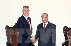 Thủ tướng Nguyễn Xuân Phúc tiếp Phó Chủ tịch Ngân hàng ADB