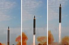 """Hàn-Mỹ-Nhật nhất trí gây """"sức ép tối đa"""" đối với Triều Tiên"""