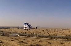 """UAE thử nghiệm thành công """"taxi bay"""" Xanh đầu tiên"""