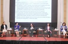 APEC tiên phong các nỗ lực toàn cầu về thúc đẩy quyền phụ nữ