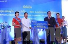 Sacombank Lào tiếp tục mở rộng chi nhánh tại tỉnh Savannakhet