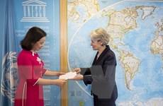 UNESCO đánh giá cao mối quan hệ ngày càng bền vững với Việt Nam