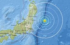 Động đất 6,3 độ Richter ngoài khơi bờ biển phía Đông Nhật Bản
