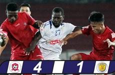 Hải Phòng chiến thắng 4-1 trên sân nhà trước Thành phố Hồ Chí Minh