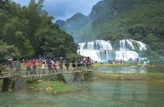 [Photo] Vẻ đẹp hùng vĩ của thác nước đẹp nhất Việt Nam