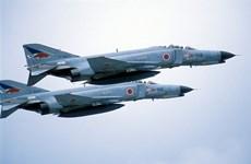 Máy bay chiến đấu của Nhật Bản bốc cháy tại căn cứ không quân