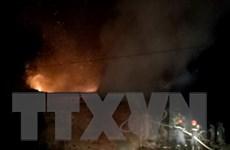 Bình Phước: Sét đánh gây cháy lớn tại nhà kho chứa trầm hương
