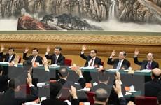 Công bố danh sách Ủy viên BCH Trung ương Đảng Cộng sản Trung Quốc