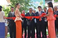 Campuchia tiếp nhận các máy phát sóng do Việt Nam tài trợ