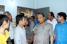 Thủ tướng Nguyễn Xuân Phúc ăn tối cùng công nhân Đồng Nai