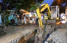 Sập hố công trình xử lý nước thải, một công nhân thiệt mạng