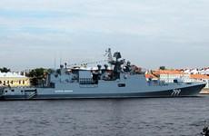 Hạm đội Baltic của Nga tập trận bắn tên lửa phòng không
