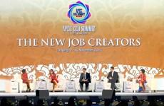 [Photo] Tiếp tục Hội nghị Thượng đỉnh Doanh nghiệp APEC 2017