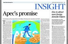 Báo Hong Kong đăng bài viết của Chủ tịch nước về APEC 2017