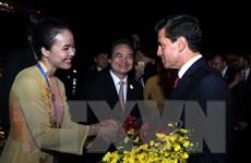 Hình ảnh lễ tiễn các nhà lãnh đạo các nền kinh tế thành viên APEC