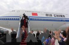 [Photo] Chủ tịch Trung Quốc Tập Cận Bình lên đường tới Hà Nội