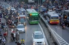 Thay 16 xe buýt chất lượng cao cho tuyến Bờ Hồ-Cầu Giấy-Bờ Hồ