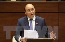 Thủ tướng trả lời chất vấn tại Kỳ họp thứ 4, Quốc hội Khóa XIV