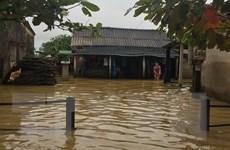 [Photo] Vùng thấp trũng tại Thừa Thiên-Huế ngập lụt diện rộng