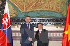 Đẩy mạnh hợp tác về thương mại giữa Việt Nam và Slovakia