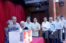 Đại sứ quán Việt Nam tại Lào tổ chức ủng hộ nạn nhân thiên tai