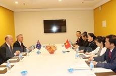 Chủ tịch Quốc hội tiếp Chủ tịch Hội hữu nghị Australia-Việt Nam