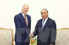 Thủ tướng Nguyễn Xuân Phúc tiếp Chủ tịch Tập đoàn Sakkara